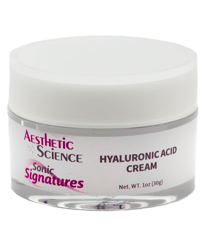 Hyaluronic Acid Cream by Aesthetic Science professional skincare product sold by Around the Body Skin Solutions