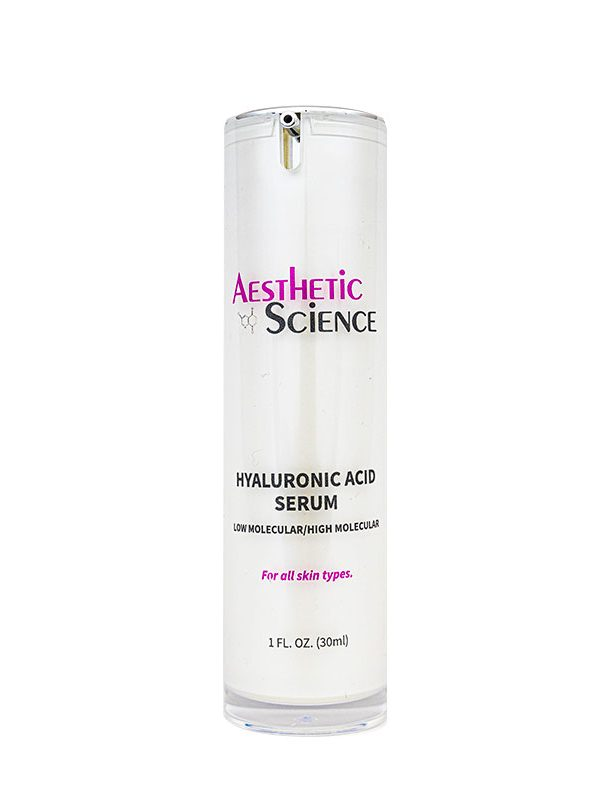 Hyaluronic Acid Serum by Aesthetic Science professional skincare product sold by Around the Body Skin Solutions