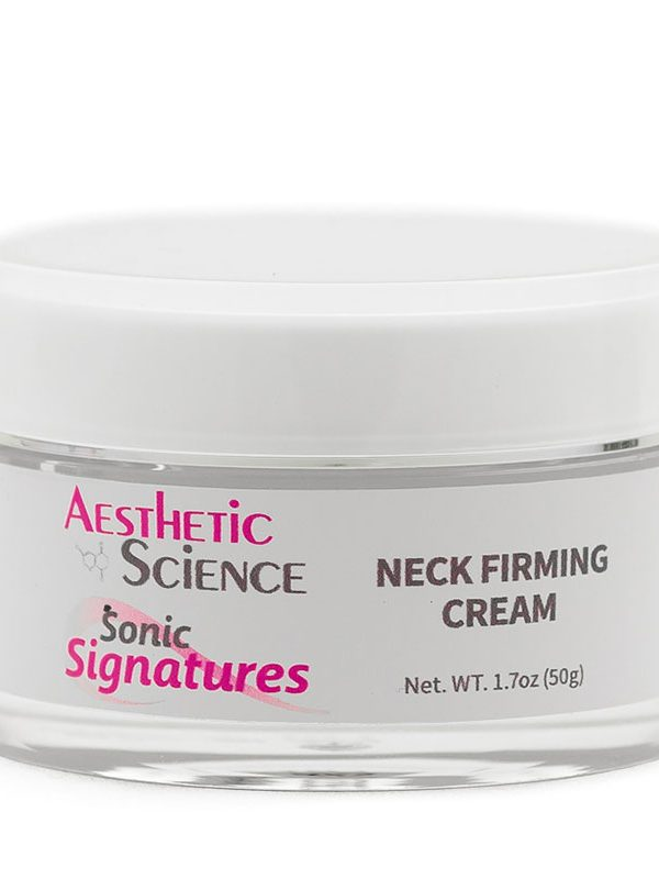 Neckcessity Neck Firming Cream by Aesthetic Science professional skincare product sold by Around the Body Skin Solutions