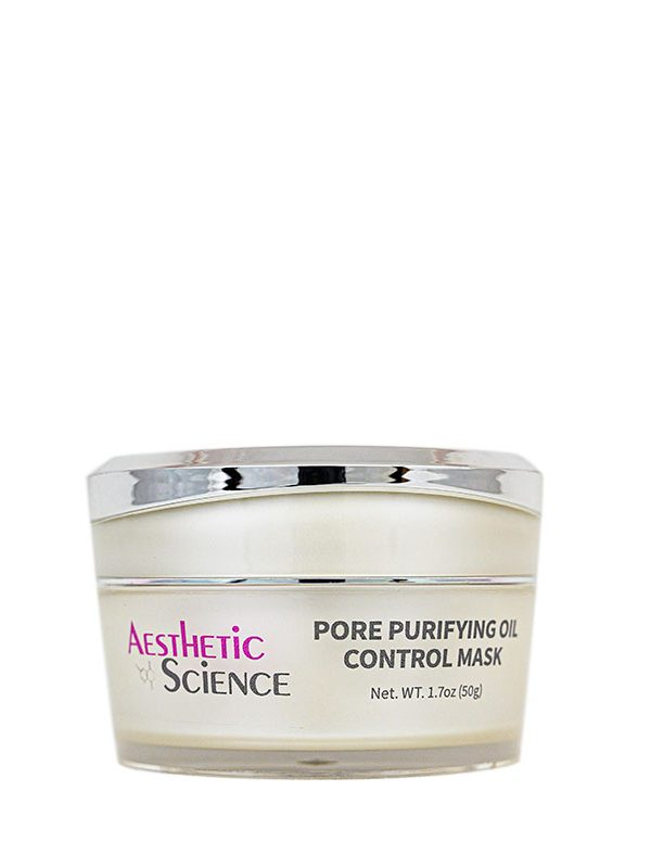 Pore Purifying Oil Control Mask by Aesthetic Science professional skincare product sold by Around the Body Skin Solutions