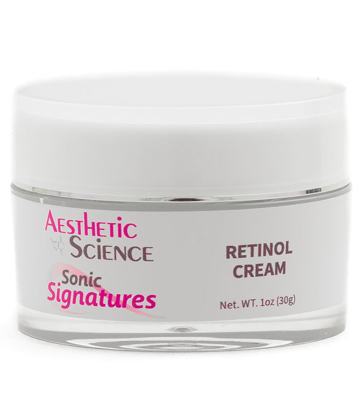 Retinol Cream by Aesthetic Science professional skincare product sold by Around the Body Skin Solutions