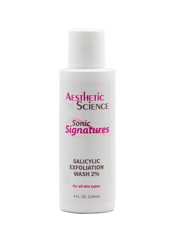 Salicylic Acid Exfoliator by Aesthetic Science professional skincare product sold by Around the Body Skin Solutions