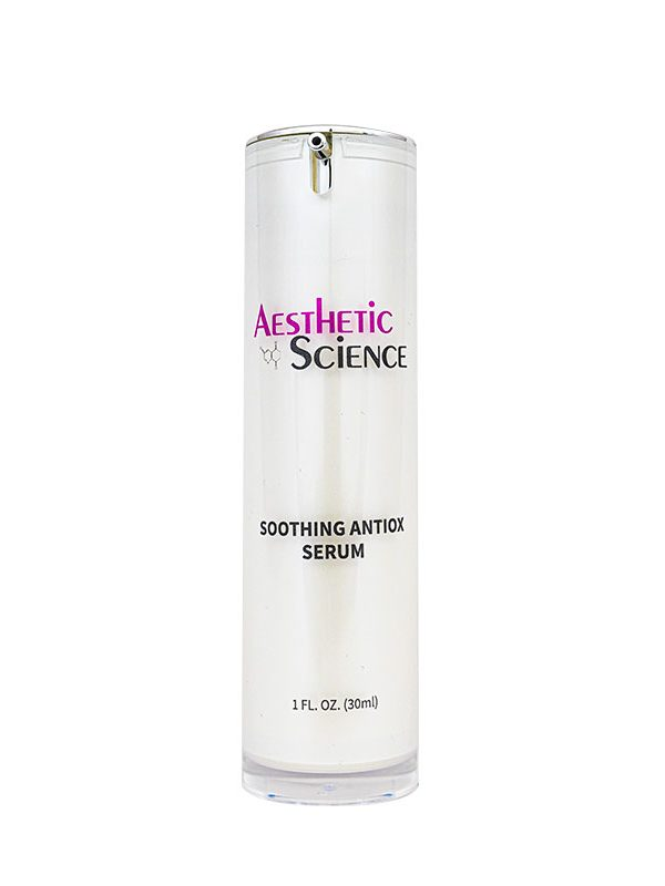 Soothing Antiox Serum (Red Tea) by Aesthetic Science professional skincare product sold by Around the Body Skin Solutions