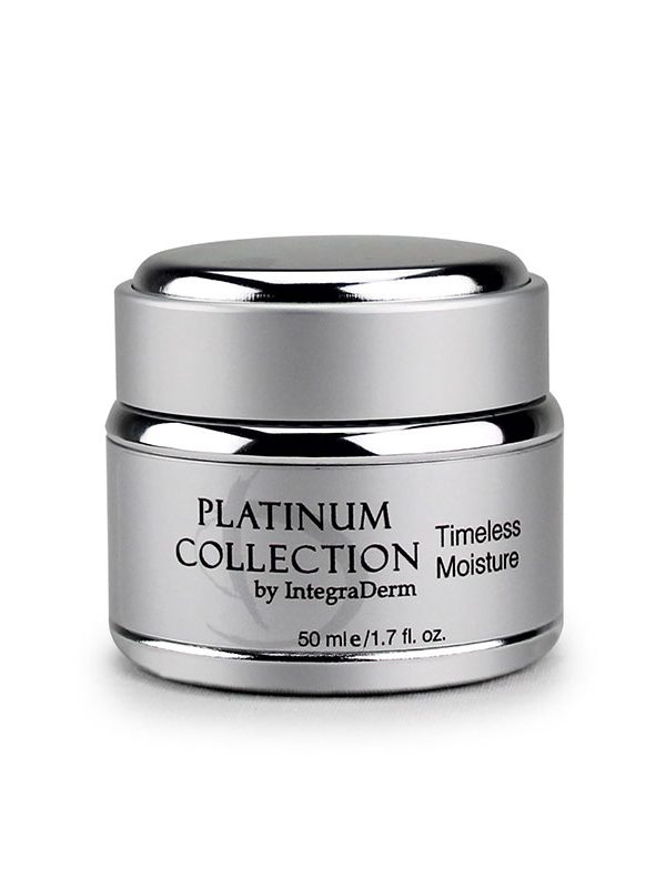 Timeless Moisture Platinum Collection ID Skin by IntegraDerm Trilogy Skincare Products available to purchase at Around The Body Skin Solutions