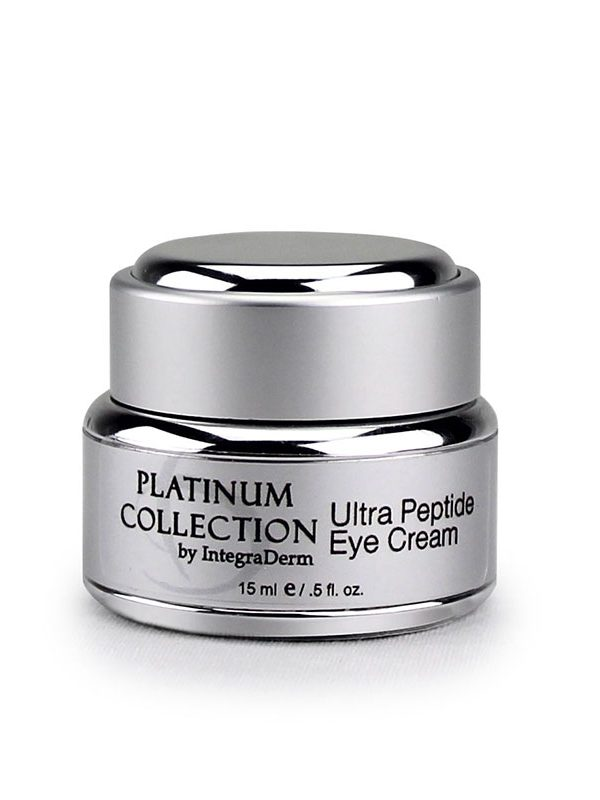 Ultra Peptide Eye Cream Platinum Collection ID Skin by IntegraDerm Trilogy Skincare Products available to purchase at Around The Body Skin Solutions